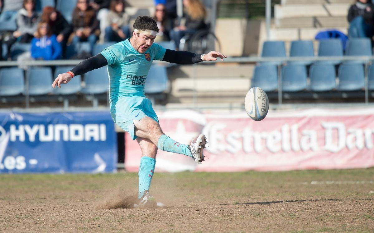 El Barça assalta el Baldiri amb un 'drop' de Guemes a l'últim segon