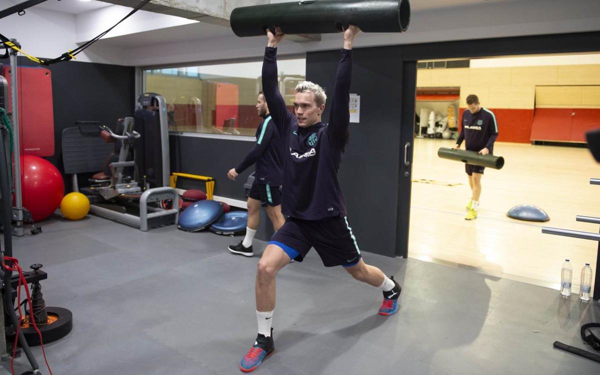Tomàs, Andersson i Möller tornen als entrenaments