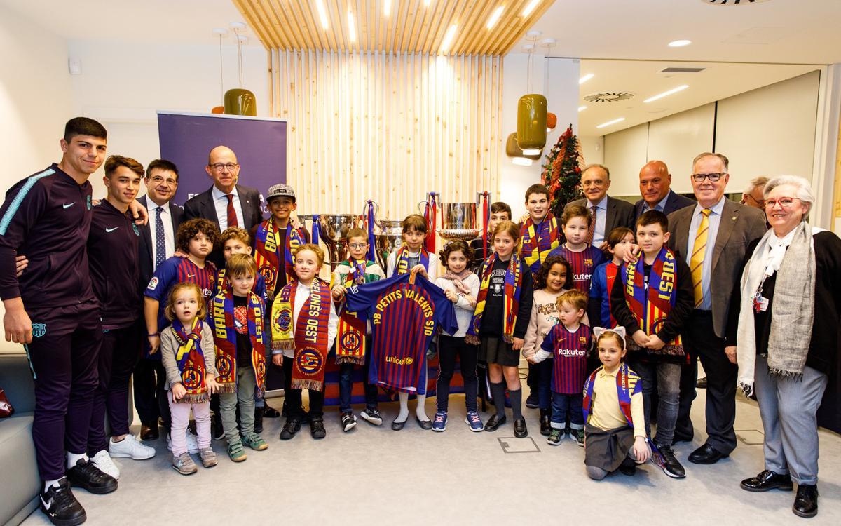 Inaugurada oficialmente la Penya Blaugrana Petits Valents SJD
