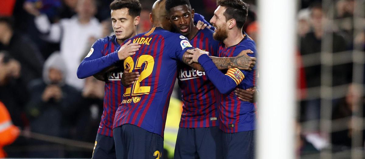 Barça – Llevant: Dembélé lidera la remuntada (3-0)