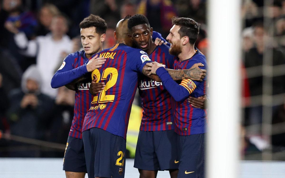 Barça 3–0 Levante: The Ousmane Cometh