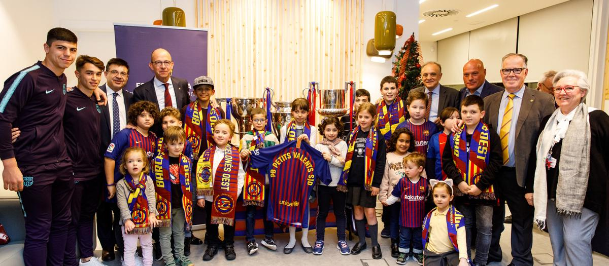 Inaugurada oficialment la Penya Blaugrana Petits Valents SJD
