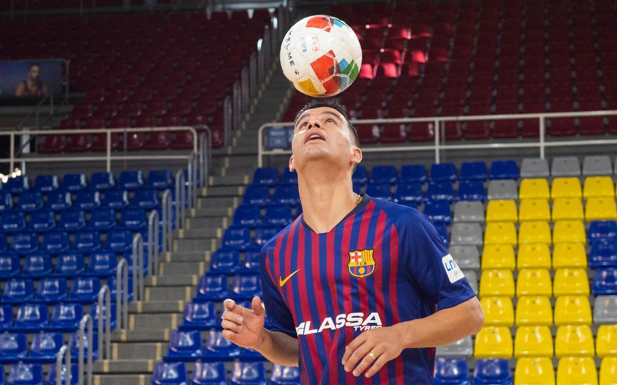 Marcenio, listo para jugar contra el Levante