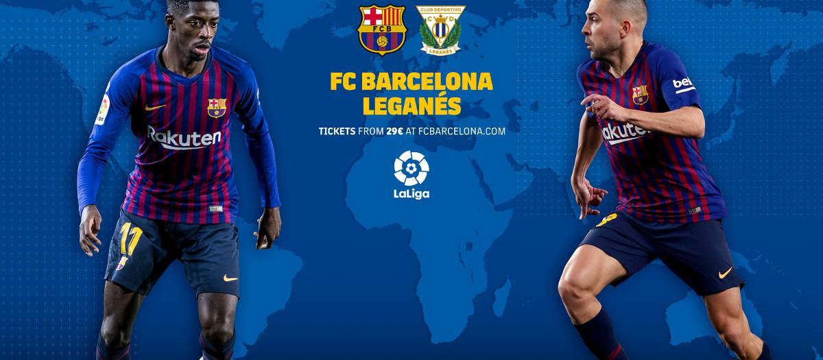 Où et quand voir FC Barcelone - Leganés