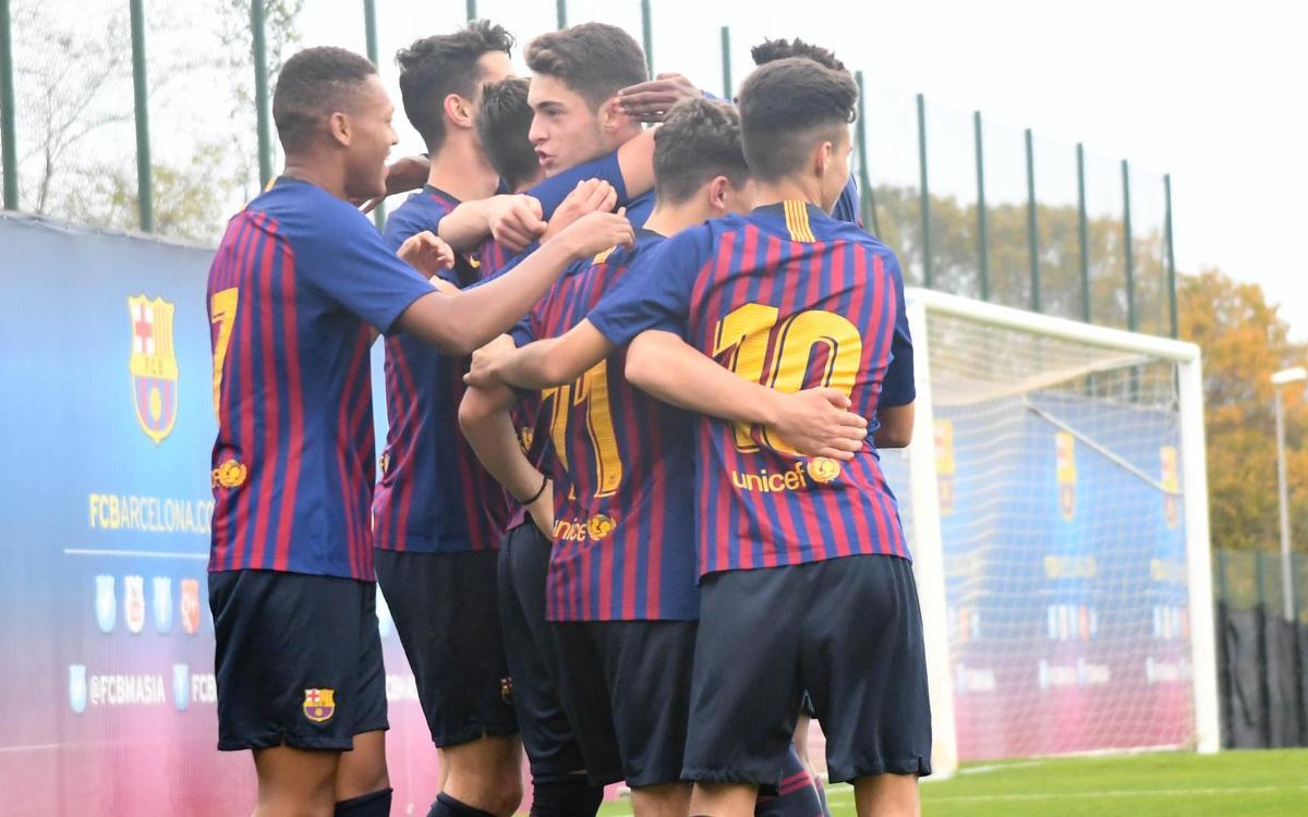 Badalona - Juvenil B: Eficacia ofensiva en la segunda mitad (0-3)