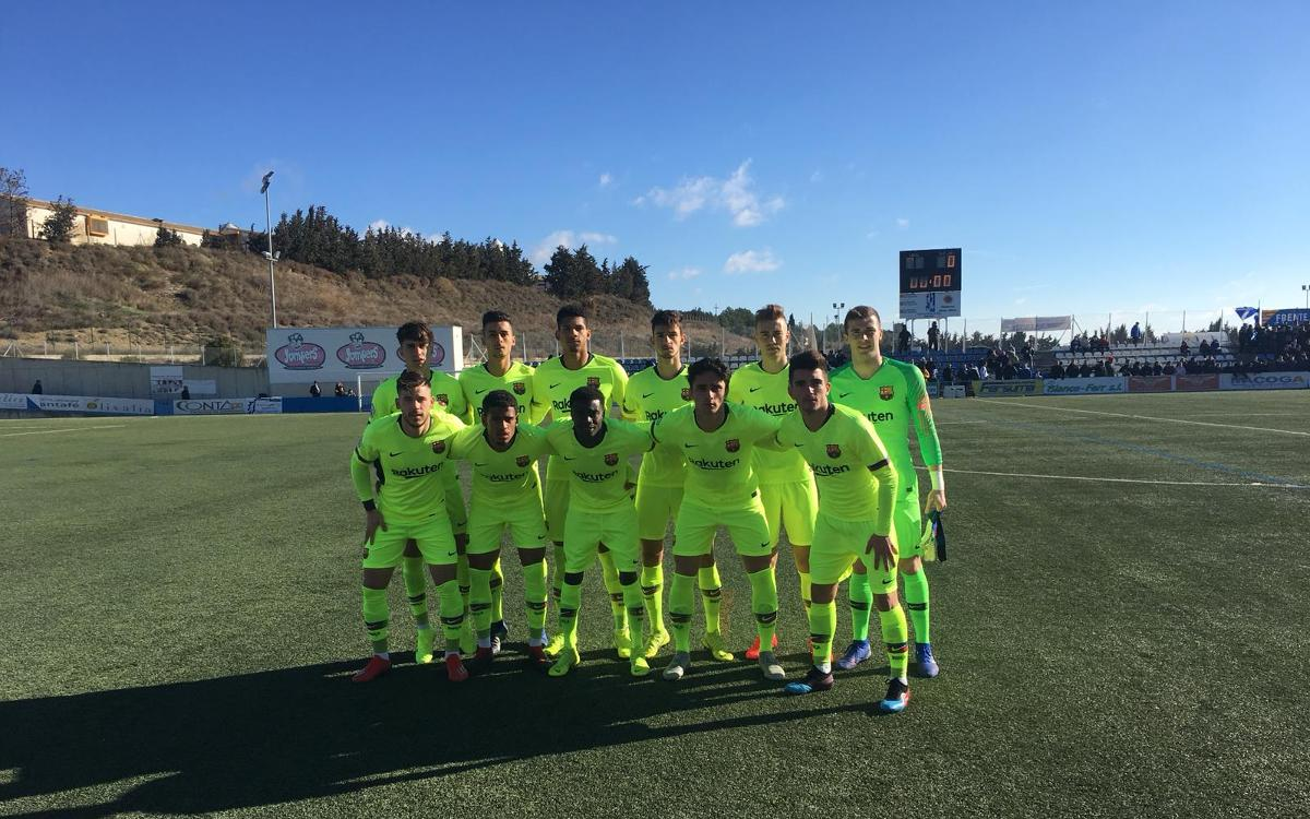 Ejea – Barça B: Defeat by a slender margin (1-0)