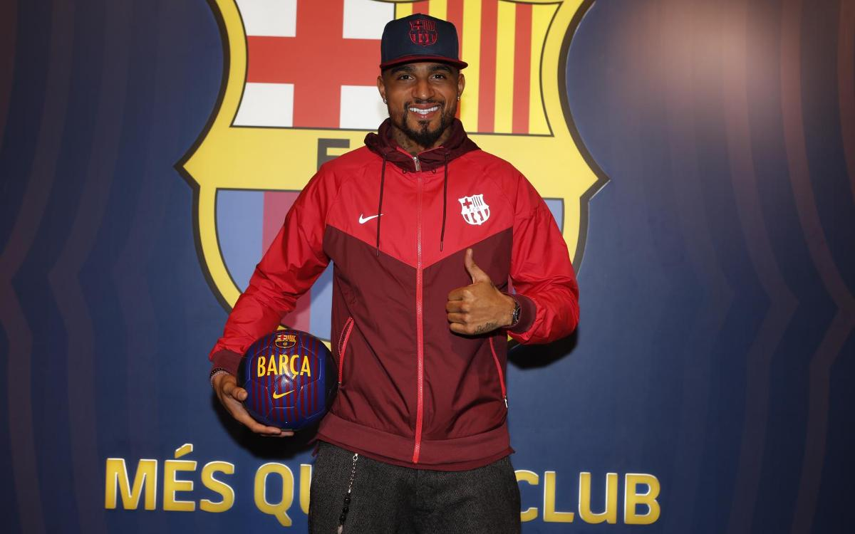 Agreement for the loan signing of Kevin-Prince Boateng