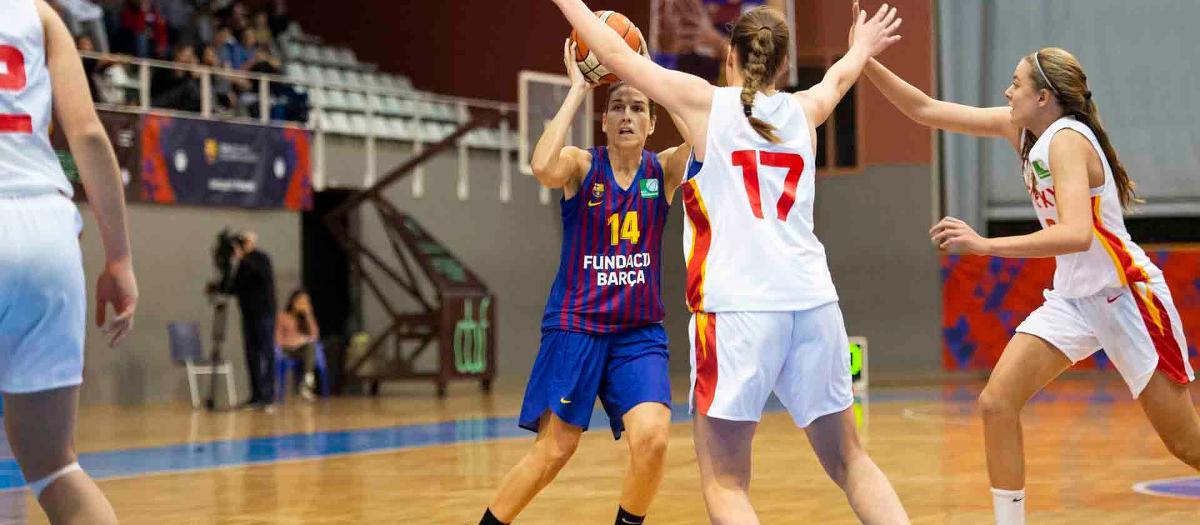 El Barça guanya, es manté en play off i Anna Boleda ja fa història