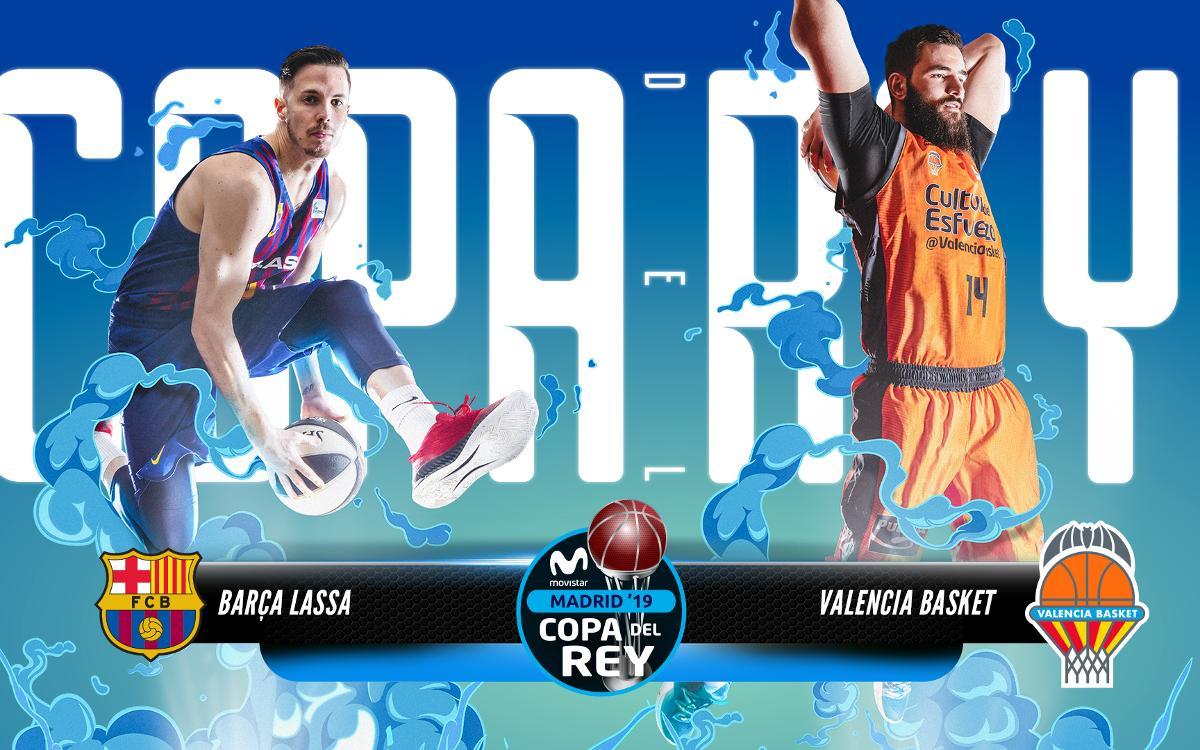 El Valencia Basket, el rival del Barça Lassa en los cuartos de final de la Copa del Rey