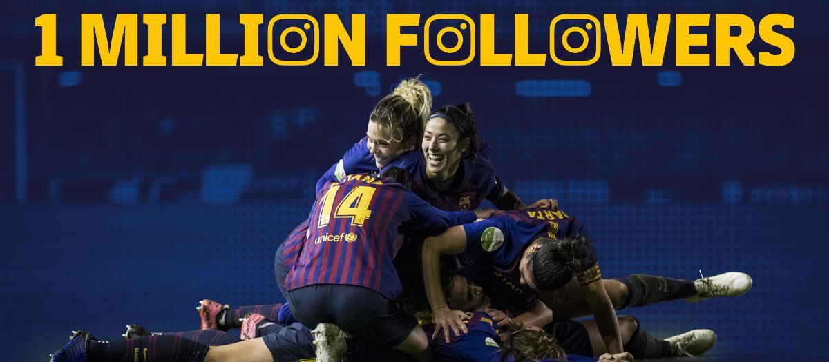 Récord: Más de un millón de seguidores en Instagram