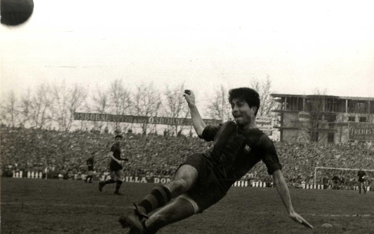 Fallece Sampedro, el héroe de la Copa de España de 1957
