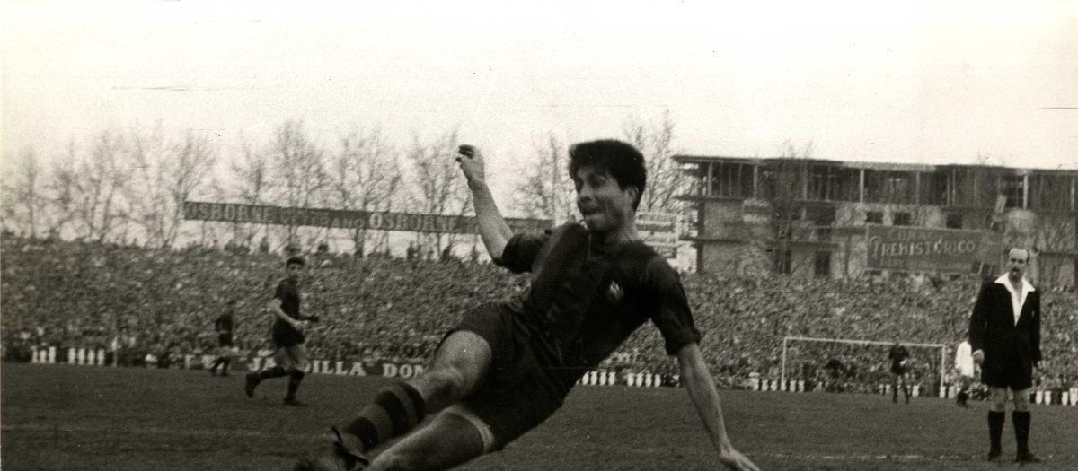 Mor Sampedro, l'heroi de la Copa d'Espanya del 1957