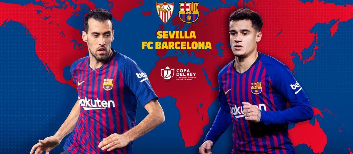 Cuándo y dónde se puede ver el Sevilla - FC Barcelona