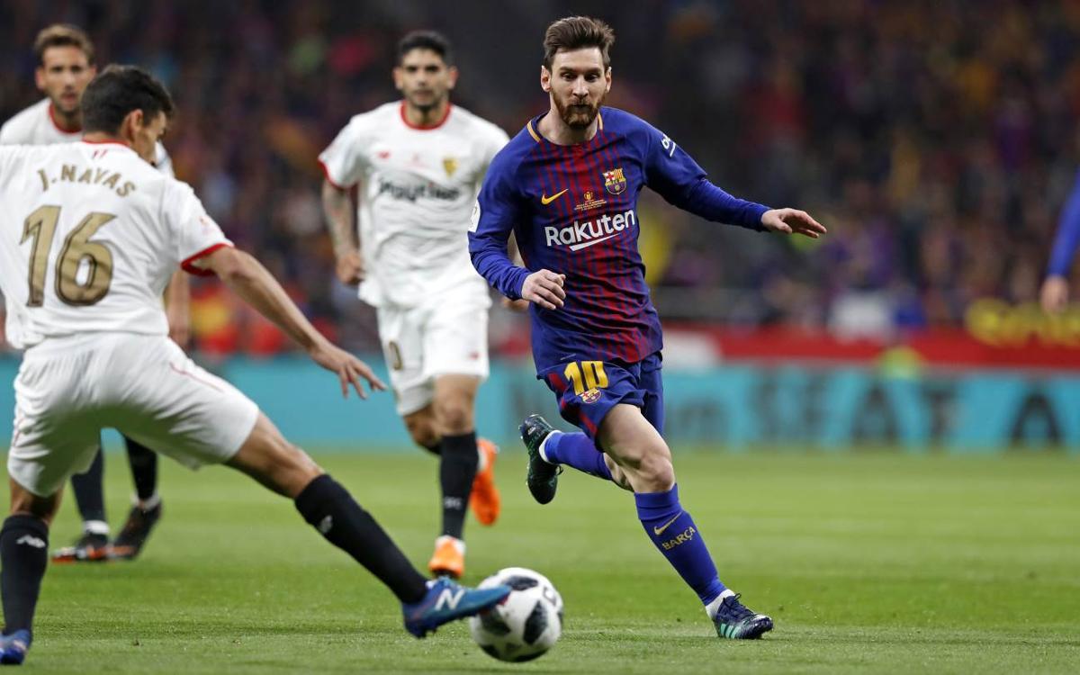 Los dos últimos precedentes con el Sevilla, dos finales