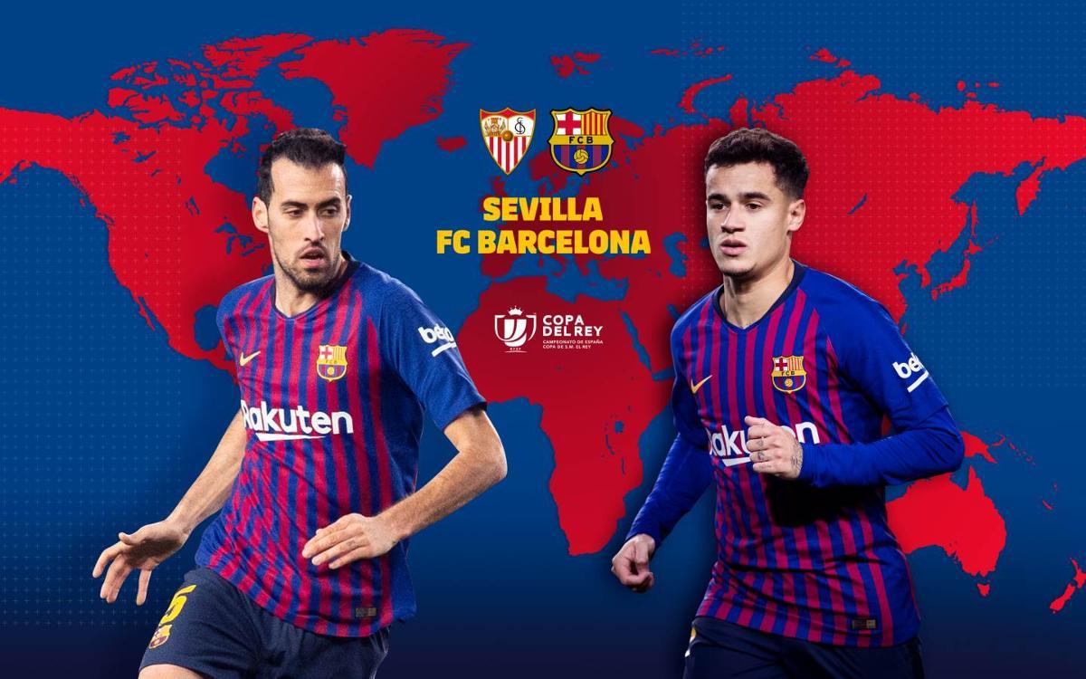 セビージャ - FC バルセロナ視聴ガイド