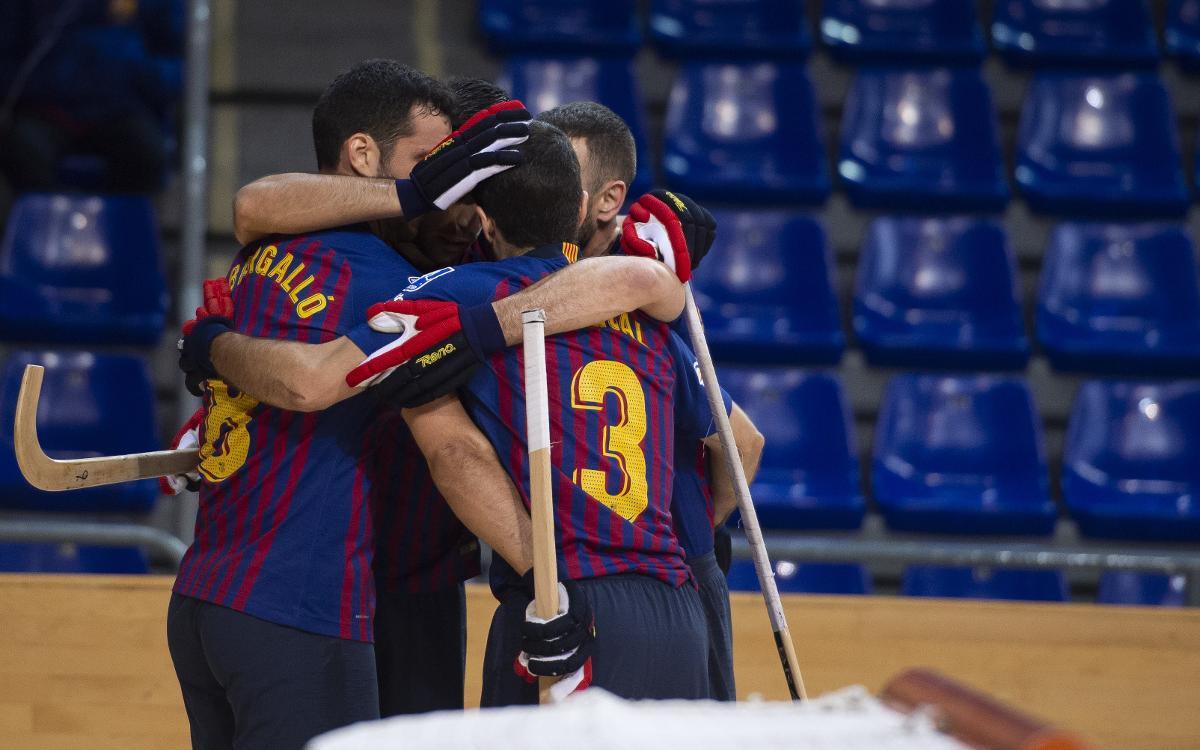 Barça Lassa - HC Liceo: Goleada para reforzar el liderato (6-2)