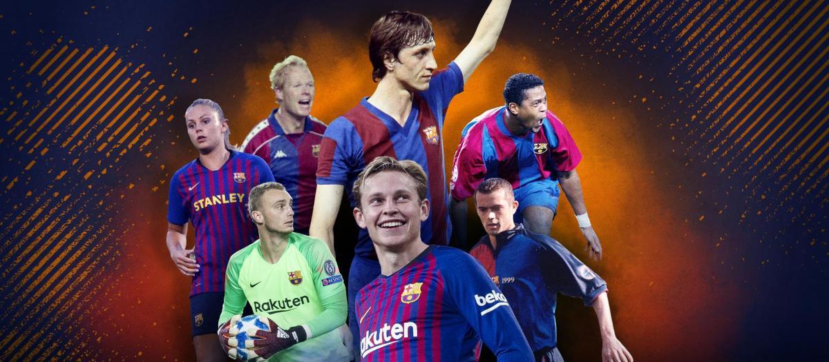 From Cruyff to De Jong