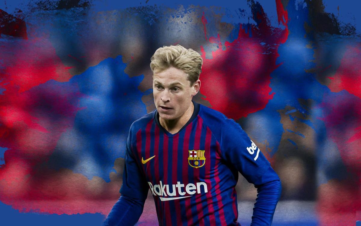 Barça sign De Jong