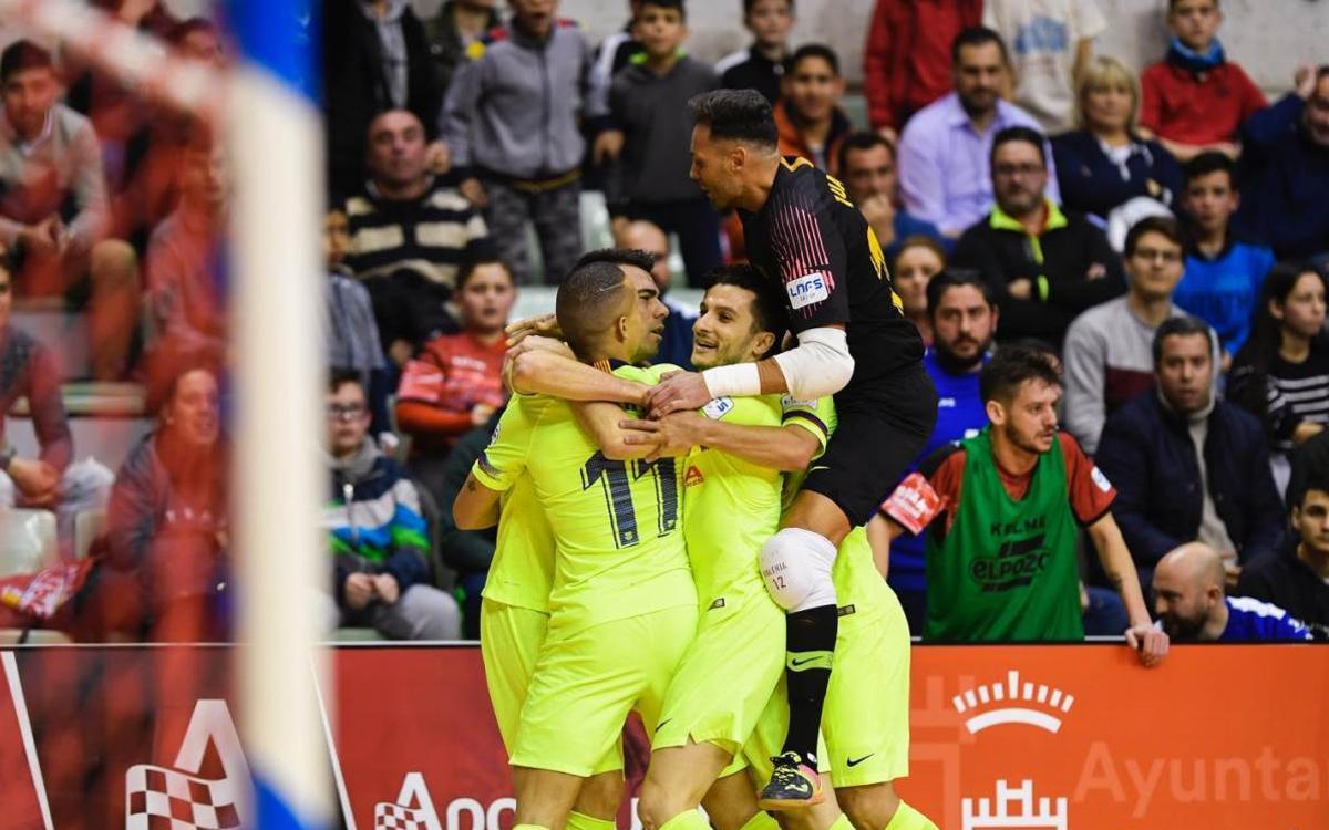 ElPozo Murcia - Barça Lassa: Catarsis culé (2-2, 9-10 en los penaltis)