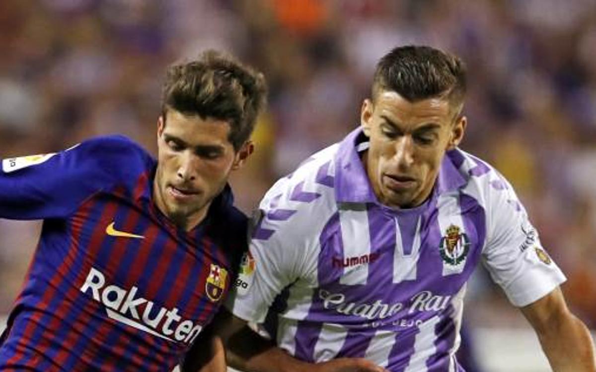 Confirmat l'horari del FC Barcelona - Valladolid