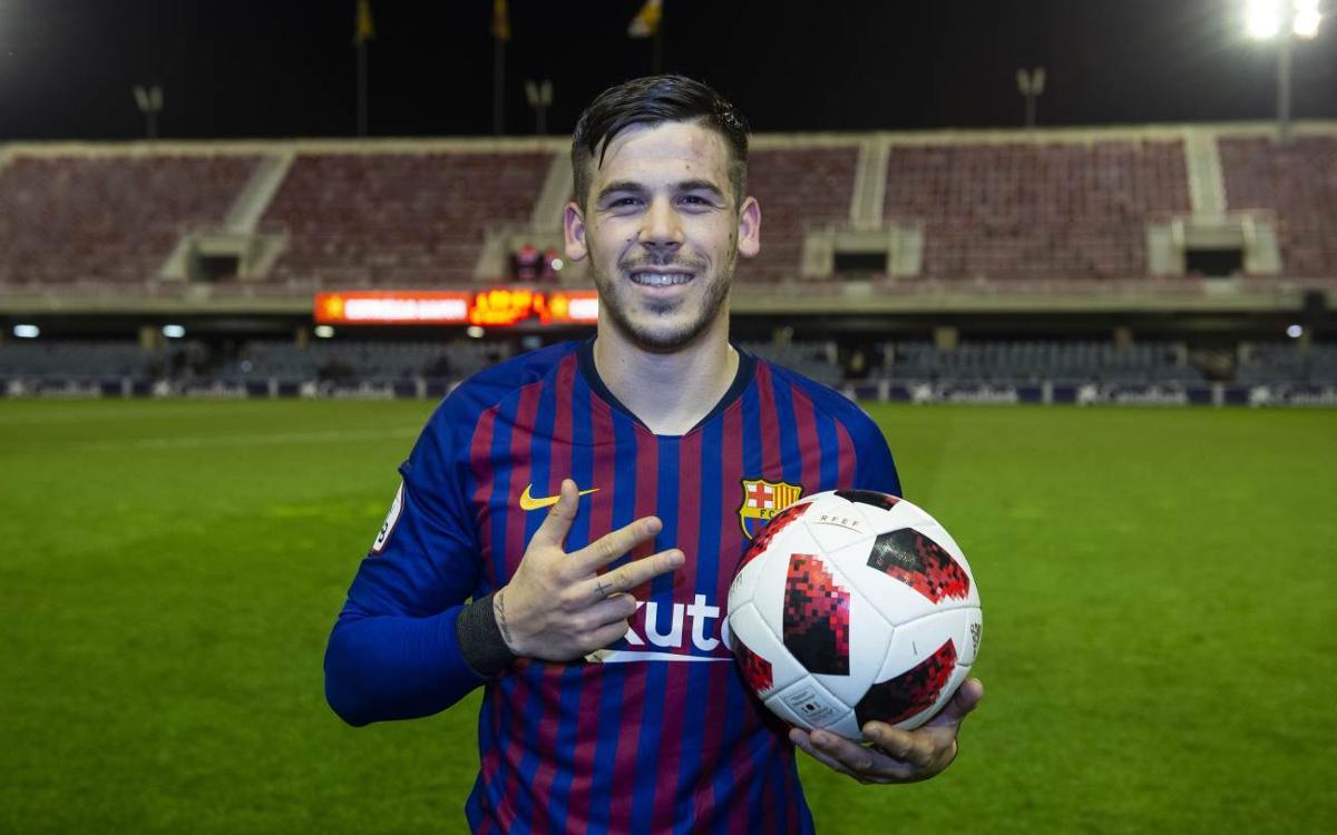 Hat-trick de Carles Pérez un año después de Tenerife