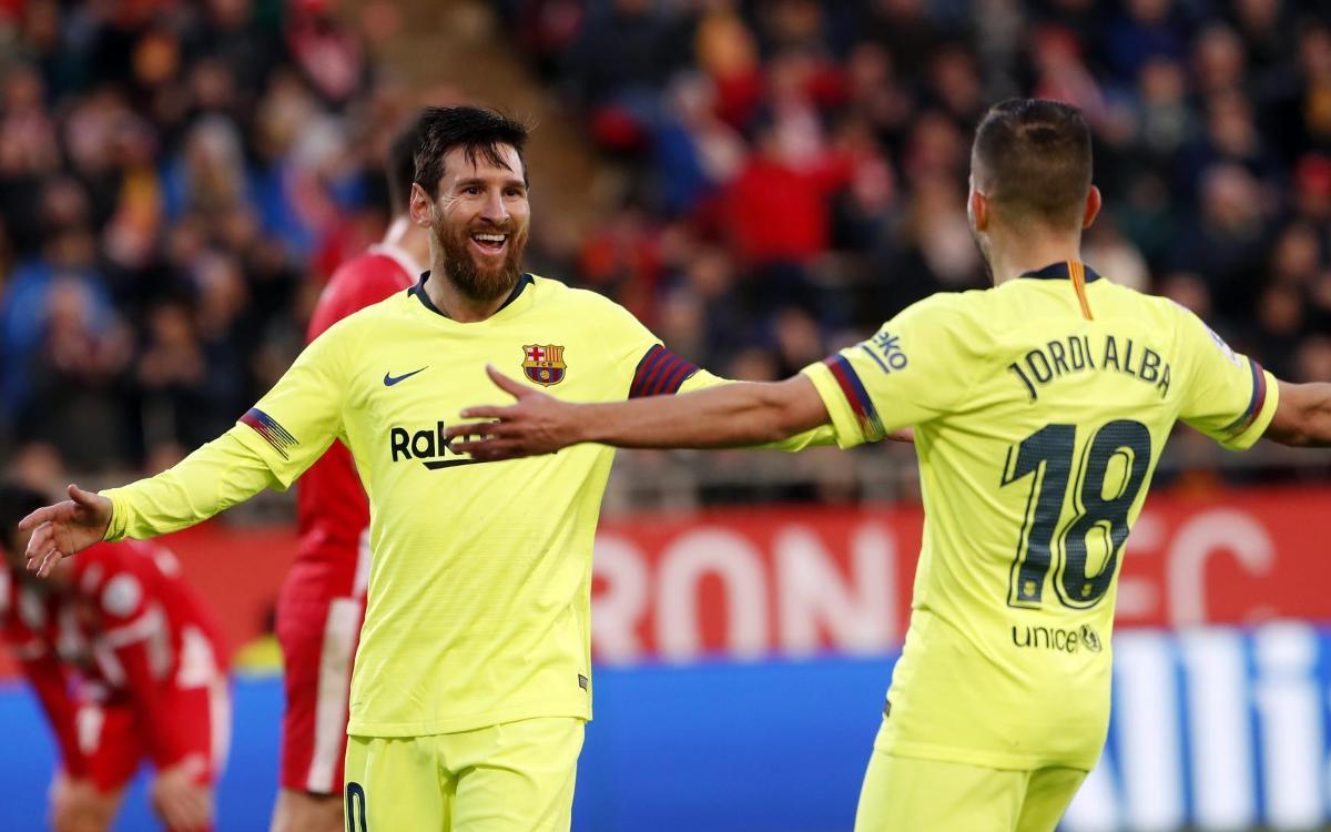 Gérone – Barça: Le grand huit pour le leader (0-2)