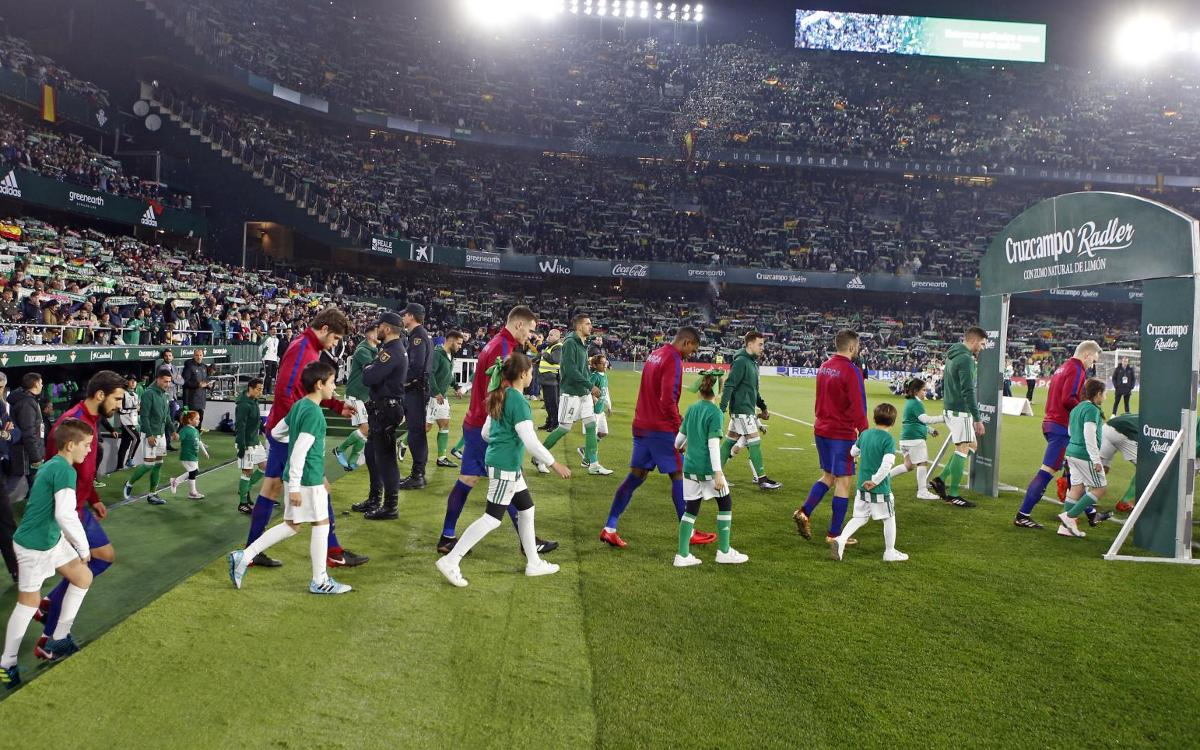 The Benito Villamarín chosen as venue for Copa del Rey final
