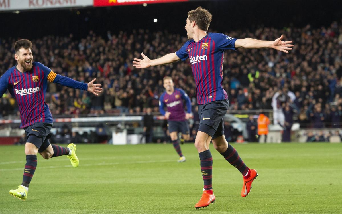 Sergi Roberto: Barça's comeback king