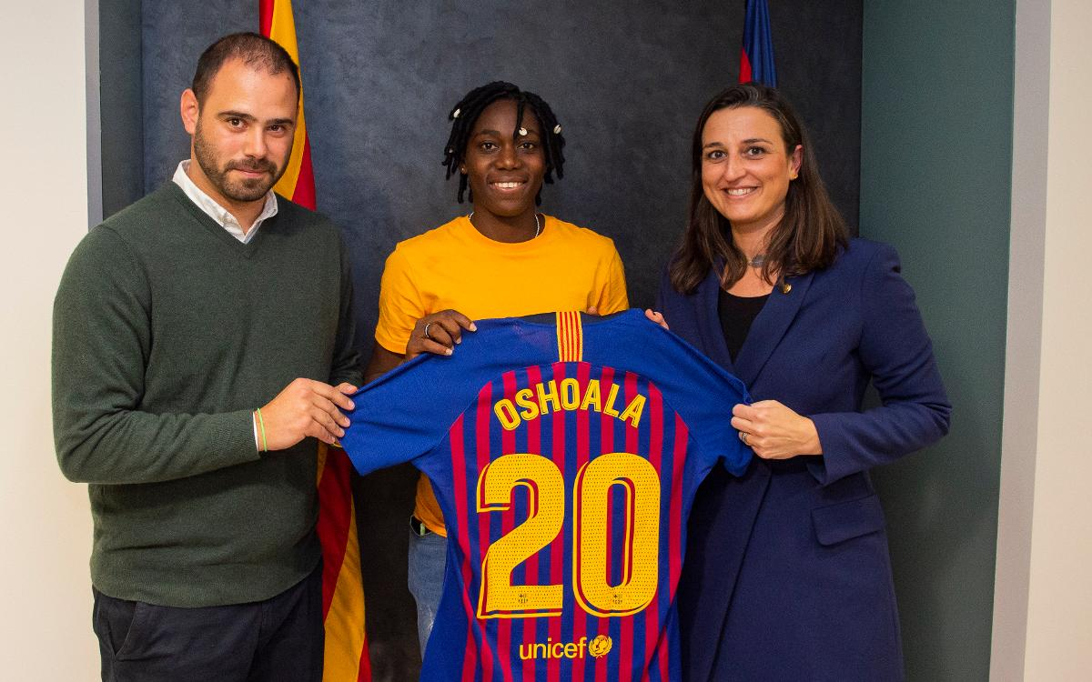 Loan agreement for Asisat Oshoala