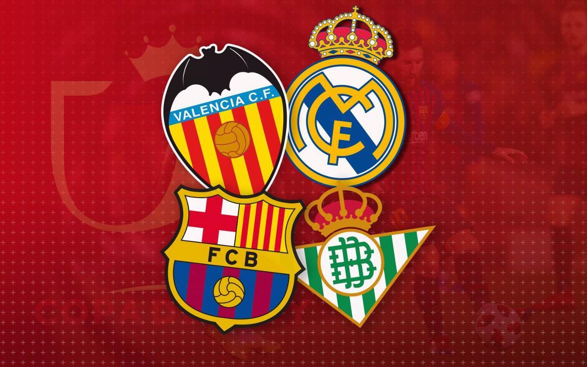 Los tres posibles rivales en semifinales