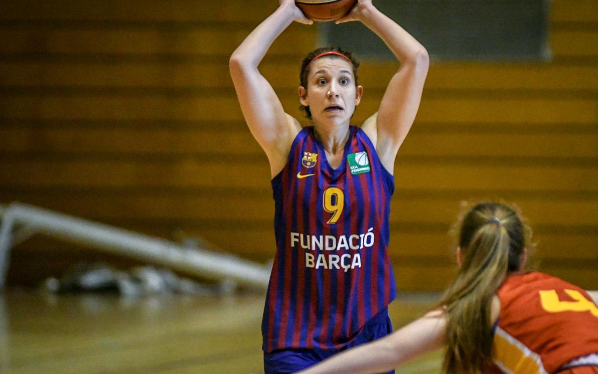 El Barça de baloncesto femenino busca una victoria para seguir presionando al patatas Hijolusa