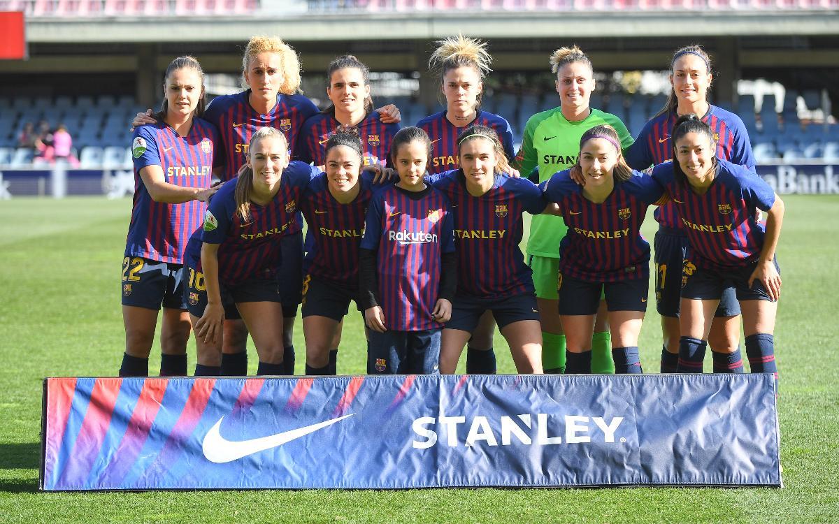 Barça Femenino - Fundación Albacete (previa): A mantener la línea en el Miniestadi