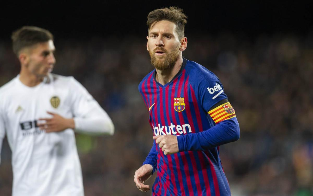 FCバルセロナ–バレンシアCF:メッシが首位チームに勝ち点1をもたらす(2-2)