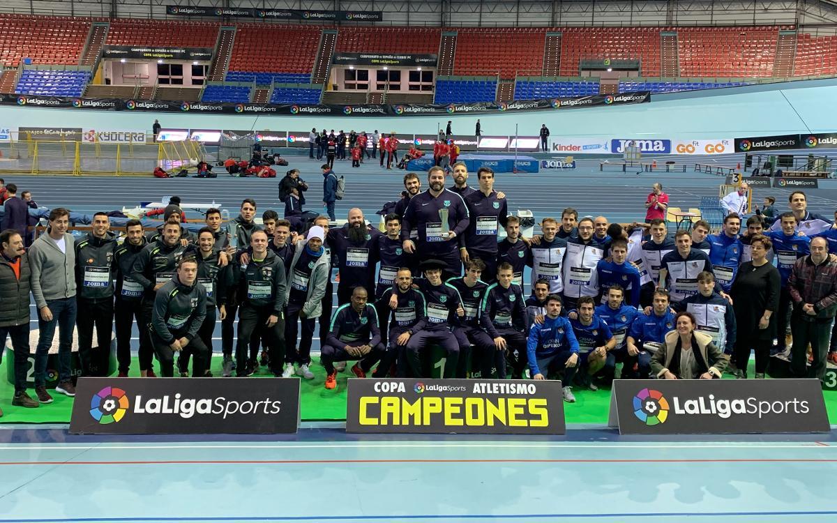 El Barça, campeón de la Copa del Rey por tercer año consecutivo