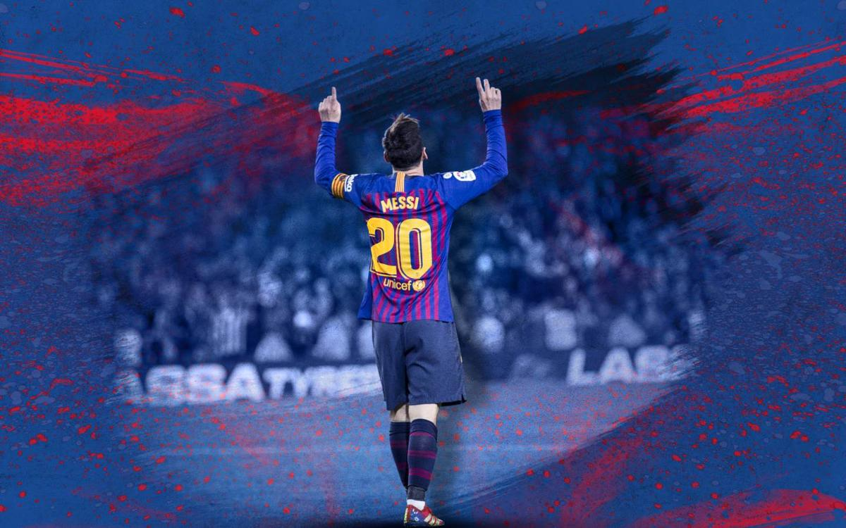 Messi scores 20 goals in the league for the 11th season in a row