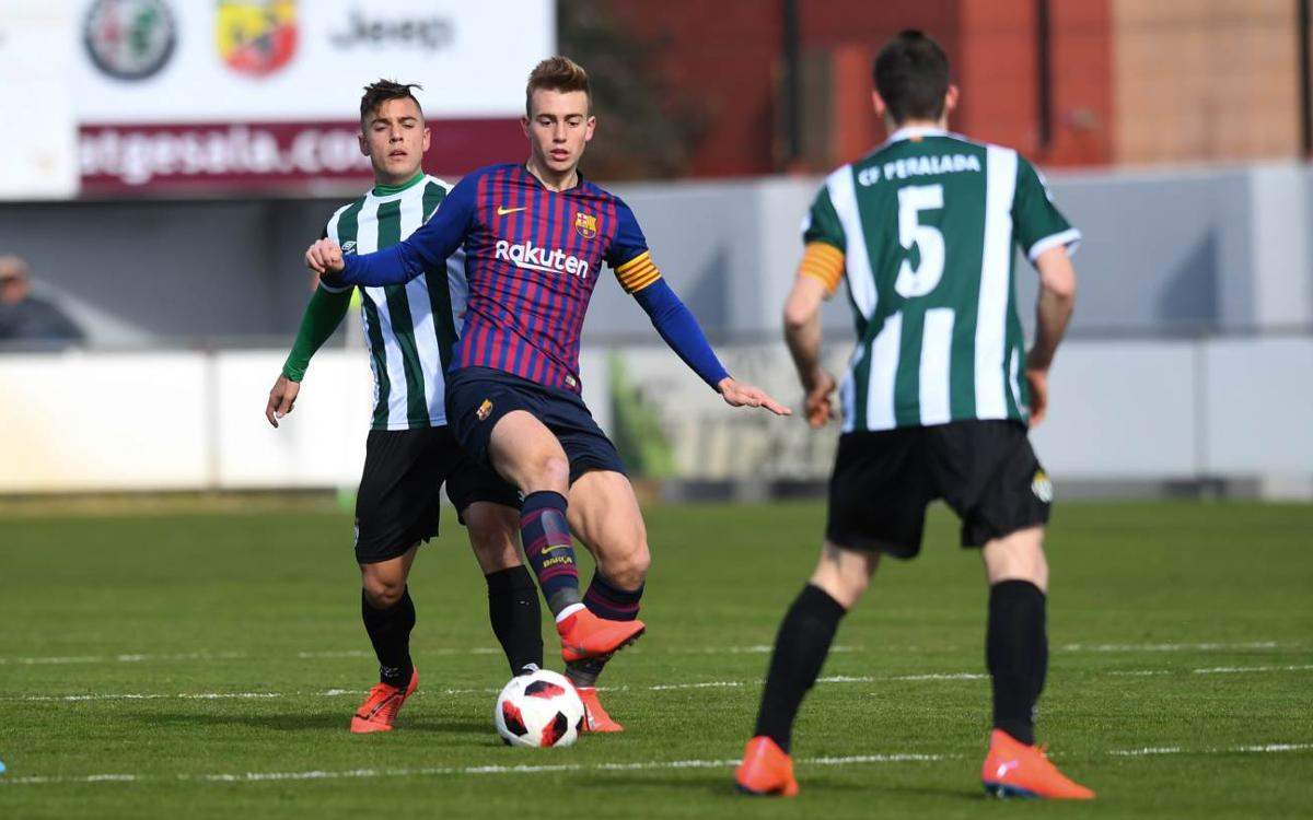 Peralada 2-0 Barça B: Beaten by the wind