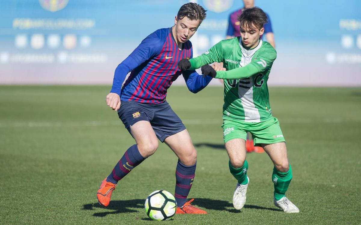 Juvenil A – UE Cornellà: Frenats per la teranyina defensiva (1-2)
