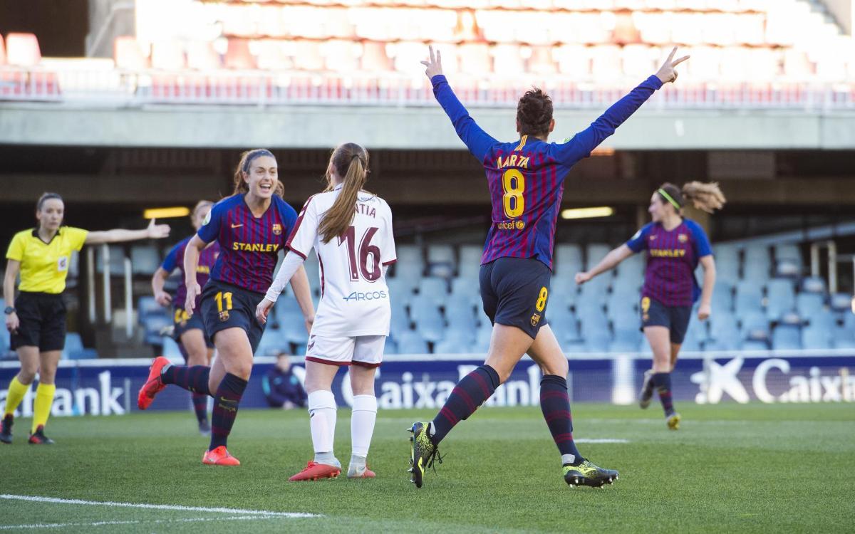 Barça Women 3–1 Fundació Albacete: Deserved win