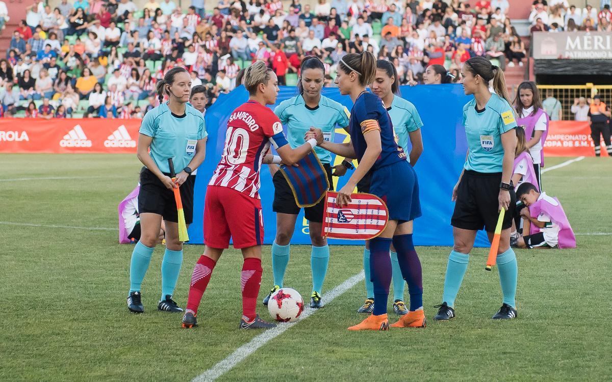 El Atlético de Madrid, el rival en semis de la Copa de la Reina