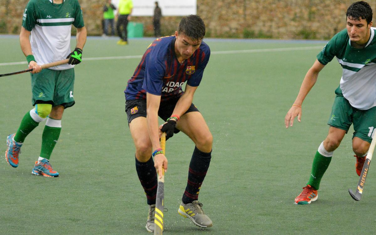 El Barça gana al Club de Campo y escala hasta la séptima posición (3-2)