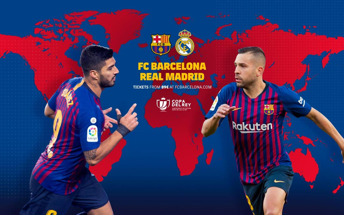 When and where to watch FC Barcelona - Real Madrid