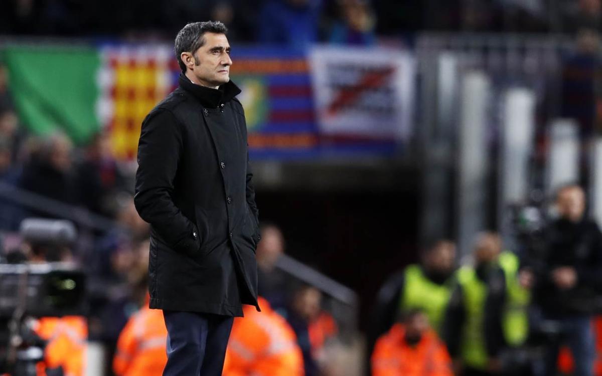 Ernesto Valverde está viviendo su segunda temporada en Can Barça.