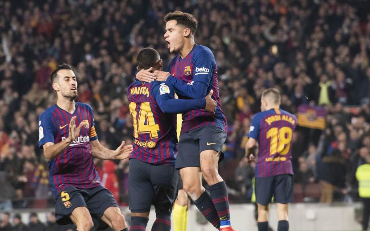 Seis años sin perder en Copa en el Camp Nou