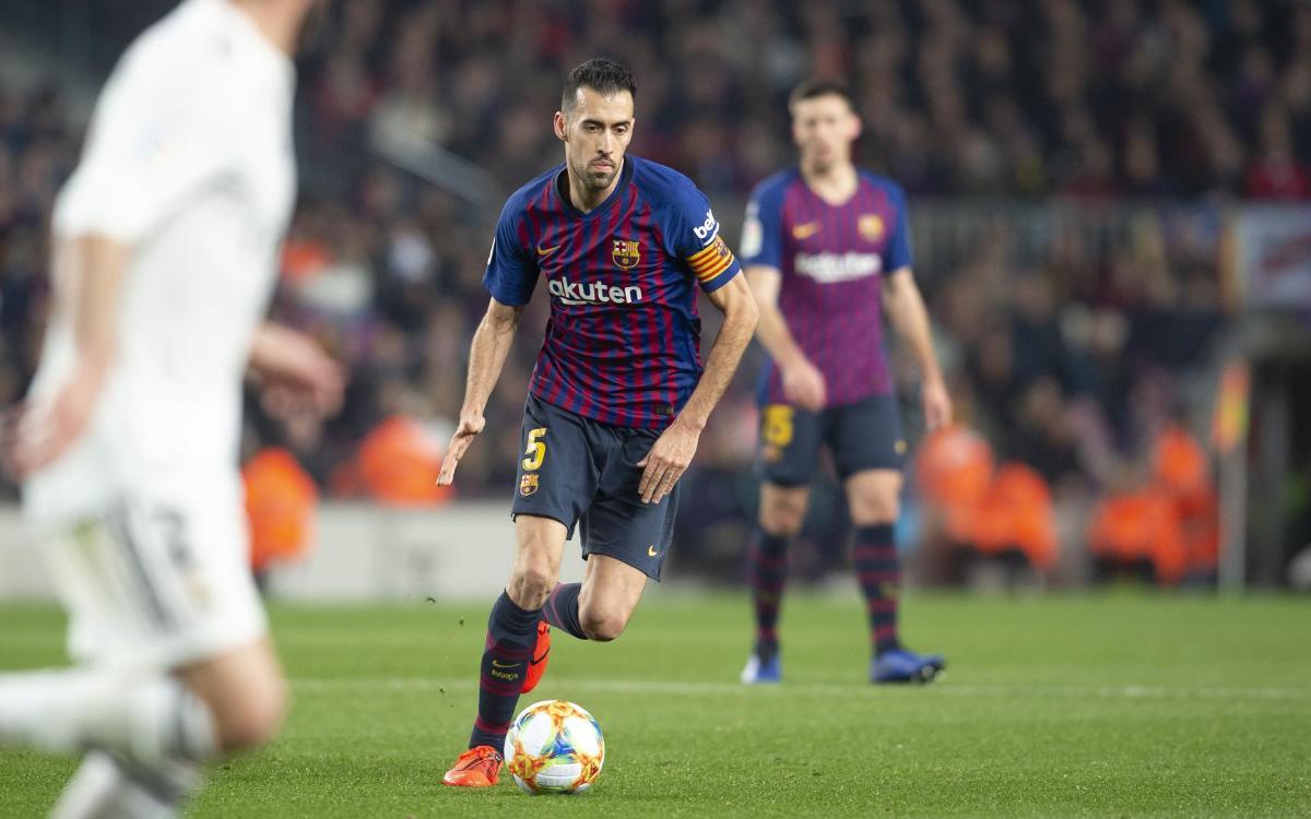 FC Barcelona - Real Madrid   Copa Del Rey Semi-finals - FC