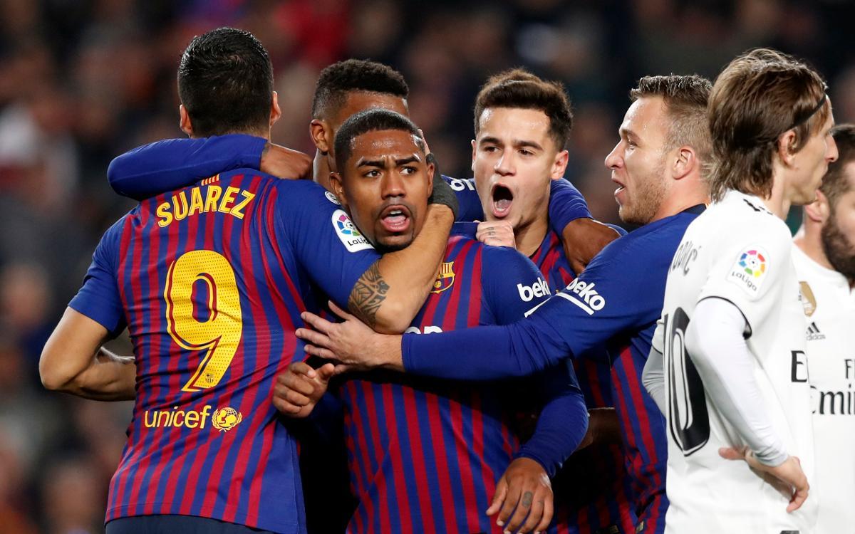 Barça 1 - 1 Real Madrid: Classic Tie Knot