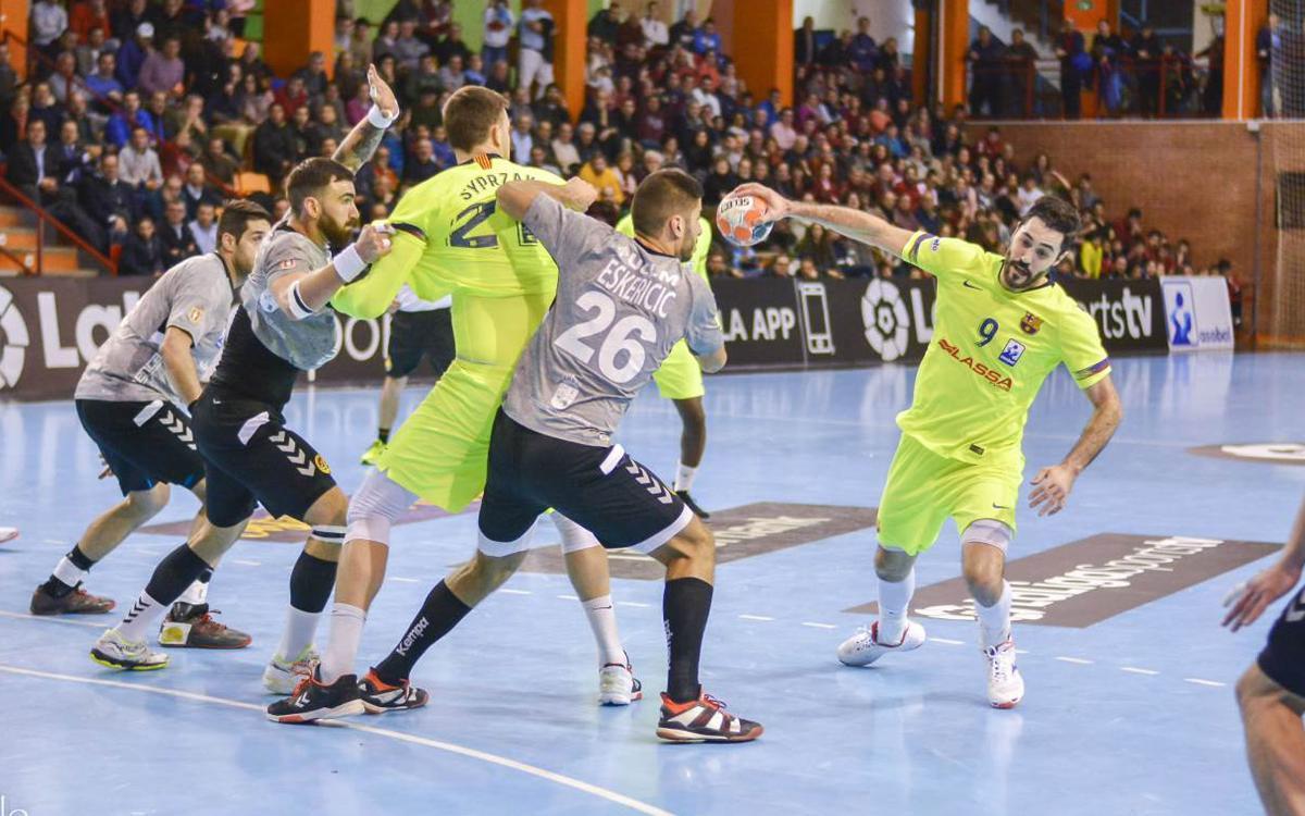 Liberbank Cuenca – Barça Lassa: Triomf seriós en una pista difícil (20-35)