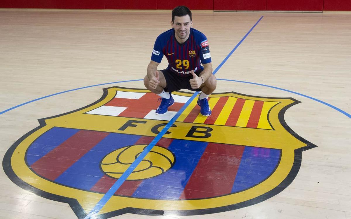 """Nemanja Ilic: """"No m'espanta el repte de jugar al Barça"""""""