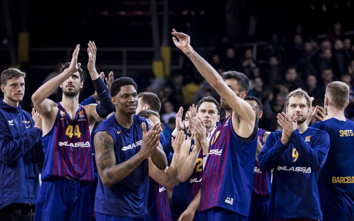 El Barça Lassa confirma su buen momento contra el Zalgiris