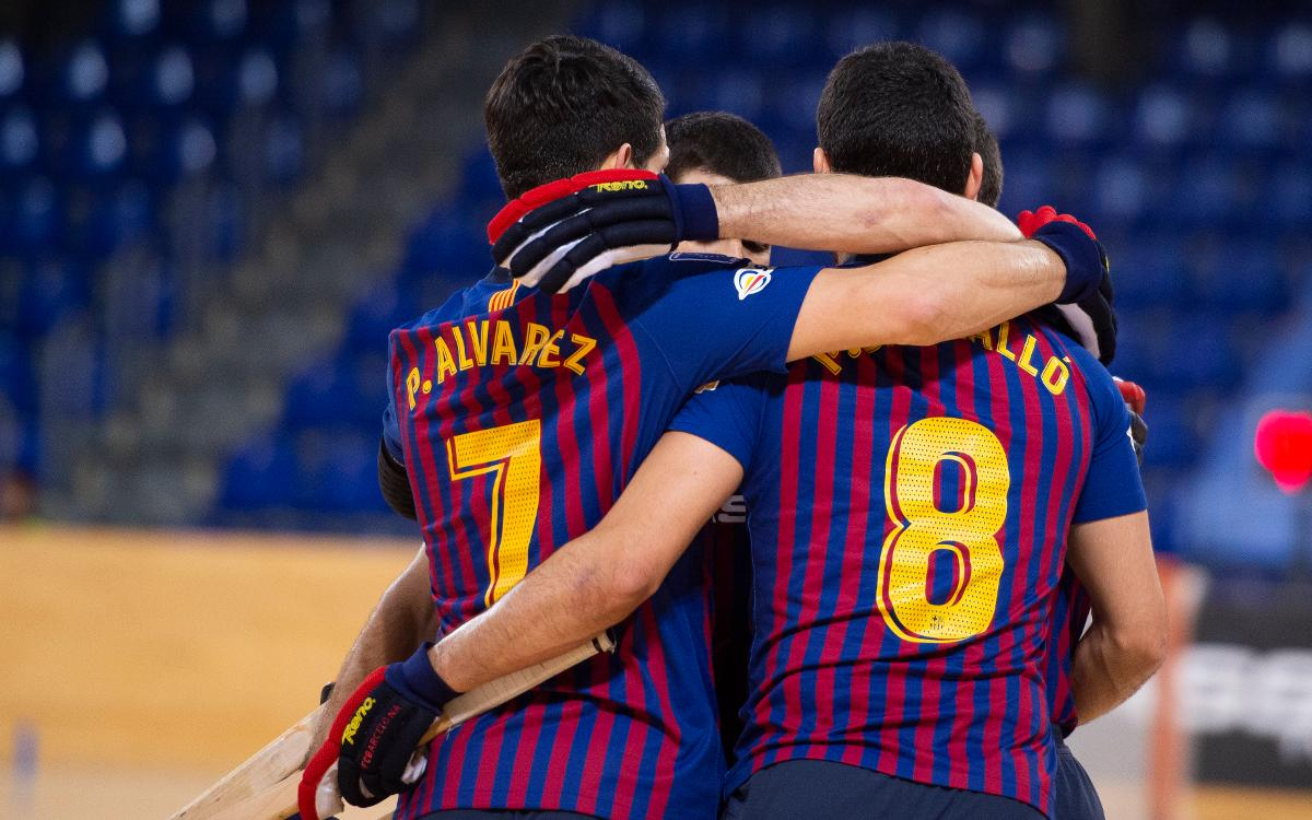 Barça Lassa - CE Vendrell: 4-0 win for the leaders