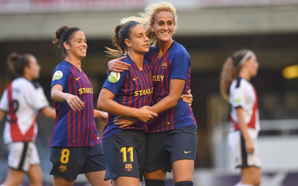 Rayo Vallecano – FC Barcelona Femení (prèvia): Desplaçament incòmode
